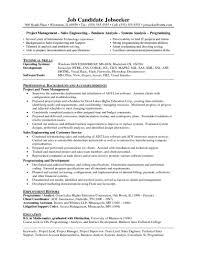 Resume Technical Leader Cover Letter Tipsrestaurant Daily