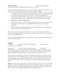 animal control resume example