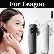 <b>Bluetooth Wireless</b> Stereo Earphone Black And White For Leagoo ...