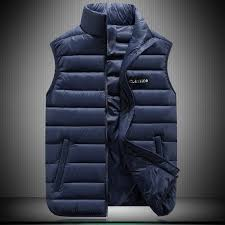 Autumn and <b>Winter</b> Mens New Down <b>Cotton</b> Vest Vest Jacket ...