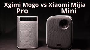 Xgimi Mogo Pro vs <b>Xiaomi Mijia Mini</b> Вот тебе и яркость в два раза ...