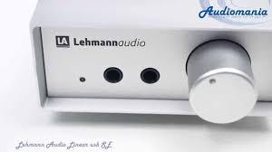 <b>Усилитель для наушников Lehmann</b> Audio Linear usb SE - YouTube