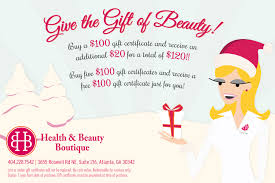 give the gift of beauty health and beauty boutique dec 14 2013