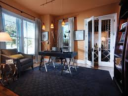eclectic home office alison colors for home office vibrant orange bedroominspiring high black vinyl executive office