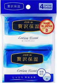 <b>Салфетки</b> бумажные <b>Elleair Lotion</b> Tissue, 4 пачки по 14 шт ...