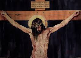 Image result for crucifix painting
