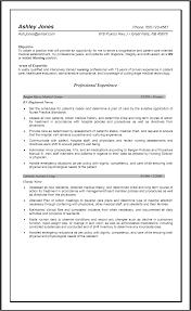 resume examples nurse resume objectives samples registered nurse resume examples rn resume objective job description pacu nurse resume newsound