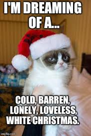 Grumpy Cat Christmas Meme - Imgflip via Relatably.com
