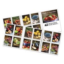 <b>Fruits and Vegetables</b> Stamp | USPS.com
