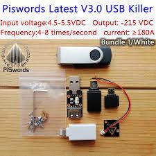 Latest USB killer V3.0 U Disk Killer Miniature power module <b>High</b> ...