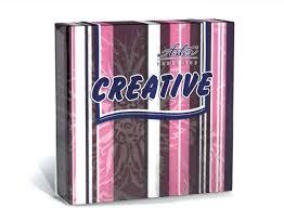 <b>Салфетки бумажные</b> Aster Creative Линия эксклюзив, лиловый, 3 ...
