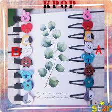 KPOP <b>Korean Acrylic Hair</b> Clip Hair Accessories Cute Cartoon ...
