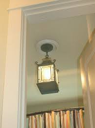 bathroom ceiling globes design ideas light:  replace recessed light with a pendant fixture bathroom ideas pertaining to hanging ceiling lights ideas
