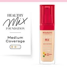 <b>Healthy Mix</b> Anti-Fatigue Foundation 50 Rose Ivory | <b>Bourjois</b>