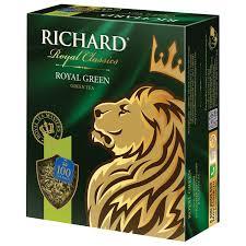 """Купить <b>Чай RICHARD</b> (Ричард) """"<b>Royal Green</b>"""", <b>зеленый</b>, 100 ..."""