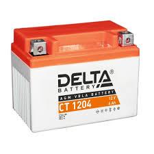 Аккумуляторная батарея стартерная <b>Delta CT</b> 1204 12V 4Ah ...