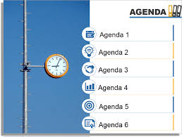 how to create a fantastic powerpoint agenda slide template in  using images and icons to create awesome agenda slides
