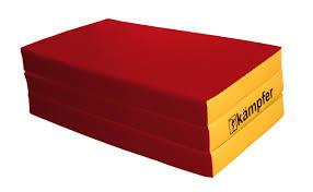 Детский спортивный <b>мат Kampfer №6</b> (<b>150</b> x 100 x 10 см) красно ...