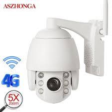 imx307 <b>2MP</b> 3G <b>4G</b> SIM PTZ IP Camera 1080P <b>HD</b> IR Night Vision ...