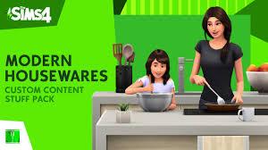 <b>MODERN</b> HOUSEWARES STUFF PACK [<b>Custom</b> Content] NEW...