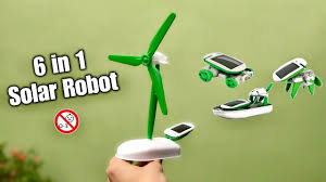 <b>6 In 1 Solar</b> Robot Kit - YouTube