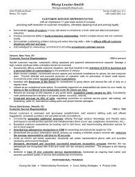 customer service resume objective statement examples  good    customer service representative resume example