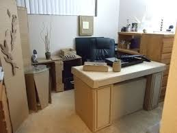 cardboard office with style eclectic home cardboard office furniture