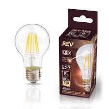 Светодиодная <b>лампа REV Filament</b> E27 5 Вт филаментная 545 ...