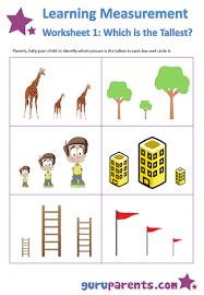 Learning Measurement Worksheets | guruparentsLearning Measurement Worksheet