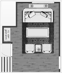 sofa arrangement small living area