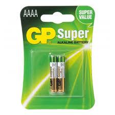 <b>Элемент питания GP Super</b> Alkaline AAAA бл 2, 25A-2CR2 ...