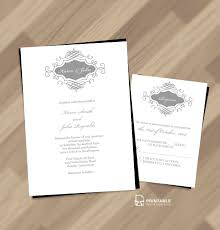 printable wedding invitations smart living