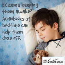 how to get an eczema child to sleep scratch sleeves blog eczema keeping them awake audio books can help itchy kids doze off babies and