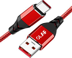 <b>OLAF</b> Super Fast Charge Phone <b>Type C</b> Charging Cable Data Cord ...