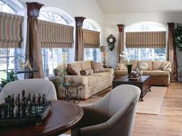Large Kitchen Window Treatment Kitchen Curtain Ideas Hgtv