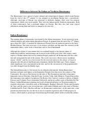 renaissance essay   hundreds of civilizations and communities  pages italian and northern renaissancepdf