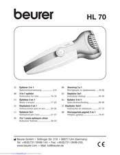<b>Beurer HL 70</b> Manuals | ManualsLib