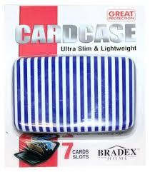 Купить <b>кошелек Bradex</b> алюминиевый «<b>МУЛЬТИКАРД</b>» Синяя ...