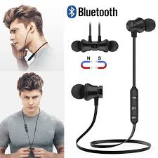 <b>Bluetooth Earphone Wireless</b> Headphone With Mic Headset Earbud ...