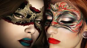 masquerade mask makeup tutorial art nouveau inspired make up look