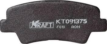 <b>Комплект задних тормозных</b> колодок Kraft, для Hyundai Solaris ...