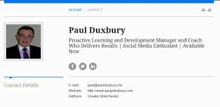 how to create a compelling resume online   paul duxbury flpi fitol    since i put my resume  or cv as we call it in the uk  online i have had a number of very positive comments  i have also had a number of people