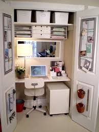 the best ideas of how to turn a closet into an office amazing small office