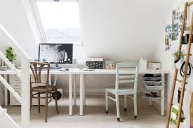 white chic home office ikea linnmon desk gaming setup chic home office bedroom