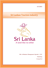 sri lankan tourism industry