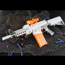 Ze Cong can fire bullet <b>electric soft</b> bullet gun <b>burst soft</b> bullet toy ...