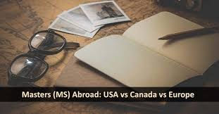 <b>MS</b> in USA vs <b>MS</b> in Canada vs <b>MS</b> in <b>Europe</b> |