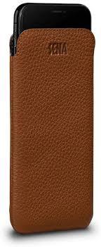 UltraSlim Leather Sleeve Case for iPhone Xs & X (Tan) - Amazon.com