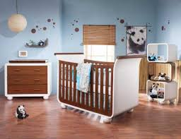white brown furniture for baby bedroom interior design ideas with blue wall paint color and brown hardwood flooring blue walls brown furniture