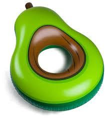 Купить <b>Круг надувной BigMouth</b> Avocado по низкой цене с ...